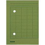 falken Dossiermap Circulatie A4 Groen Karton 22 x 31,8 cm 100 Stuks