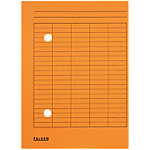 falken Dossiermap Circulatie A4 Oranje Karton 22 x 31,8 cm 100 Stuks