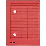 falken Dossiermap Circulatie A4 Rood Karton 22 x 31,8 cm 100 Stuks