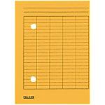 falken Dossiermap Circulatie A4 Geel Karton 22 x 31,8 cm 100 Stuks