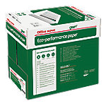 officedepot Office Depot Green Eco Performance print-/ kopieerpapier A4 75 gram Wit Quickbox Doos van 2500 vellen