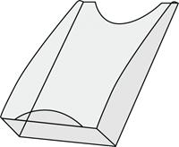kerkmann Folderhouder Tec-Art 1 x A4 Transparant