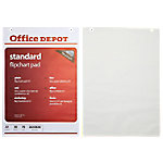 officedepot Office Depot Plain flip-over Pads geperforeerd A1 70 gsm voor wandmontage 40 vellen