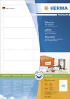 herma Multifunctionele etiketten 4672 Wit 97 x 33,8 mm 100 Vellen à 16 Etiketten