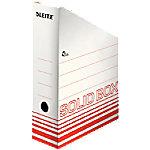 leitz Tijdschriftencassette Solid 900 vel A4 Lichtrood 10 x 26 x 32 cm 10 Stuks