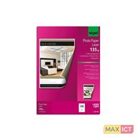 Sigel LP141. Type finish: Glans, Media gewicht: 135 g/m², Papier afmeting: A4