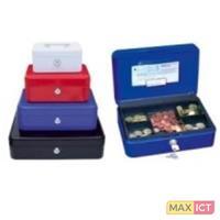 Wedo 145 102H. Materiaal: Staal, Kleur van het product: Rood, Slot type: Sleutel. Afmetingen (BxDxH): 152 x 115 x 80 mm