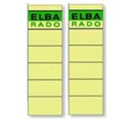 Elba Spine Label for Lever Arch Files 190 x 59 mm Buff Multi kleuren 10stuk(s) etiket