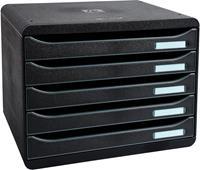Exacompta ladenblok Big-Box Plus, horizontaal, zwart