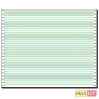 Sigel 12371. Papier afmeting: A3 (297×420 mm), Aanbevolen gebruik: Universeel, Kleur van het product: Groen, Wit. Vellen per pak: 2000 vel