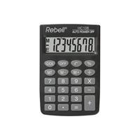 Citizen Calculator Rebell HC108 BX zwart hand 8 digit