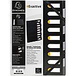 Exacompta Sorteermap HARMONIKA Exactive A4 Zwart 88,8% recycled polypropyleen 9 tabs 24 x 1,5 x 32 cm