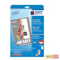 Avery 2789-40 A4 (210×297 mm) Glans Wit papier voor inkjetprinter