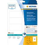 HERMA Inkjet Etiketten 8842 Wit Rechthoekig 88,9 x 46,6 mm 25 Vellen van 12 Etiketten