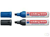Viltstift edding 500 schuin assorti 2-7mm
