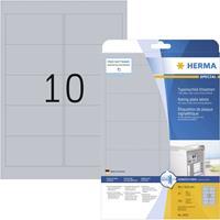 Herma 4223 4223 ( 96 x 50.8 mm ),Zilver, 250 stuk(s), Permanent