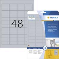 Herma 4221 4221 ( 45.7 x 21.2 mm ),Zilver, 1200 stuk(s), Permanent
