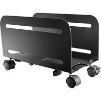 speakaprofessional SpeaKa Professional SP-PCS-150 SP-9009204 PC-houder Bodem, Staand Zwart Belastbaar tot: 10 kg