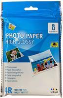 Aigostar fotopapier 10 x 15 glanzend 180 gram 50 vel