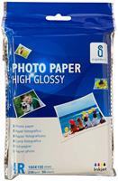Aigostar fotopapier 10 x 15 glanzend 230 gram 50 vel