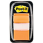 post-it 680-4 Indexen Oranje Blanco Niet geperforeerd 25,4 x 43,2 mm 70 g/m² 50 Strips