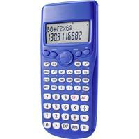 renkforce RF-CA-240 Wetenschappelijke rekenmachine werkt op batterijen Blauw Aantal displayposities: 12