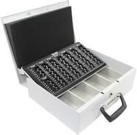 basi 2100-0900 Geldcassette (b x h x d) 355 x 105 x 275 mm Grijs