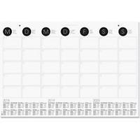 Sigel Muurkalender 595x410mm maandplanner