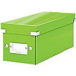 Leitz Click & Store WOW CD Opbergdoos Karton Groen 14.3 x 35.2 x 13.6 cm