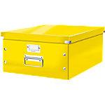 Leitz Click & Store WOW Opbergdoos A3 Karton Geel 36.9 x 48.2 x 20 cm