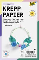 Folia Paper Crepepapier Folia 50x200cm Trend 10kleuren