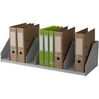 Paperflow Belegfach, 9 Fächer, feste Einteilung, grau