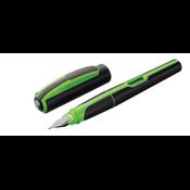 Pelikan P 57 vulpen Zwart, Groen Cartridge filling system 1 stuk(s)