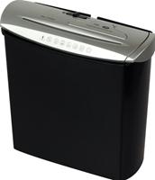 genie 245 CD - Papiervernietiger - reepversnippering - P-1 - zwart, zilver