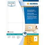 HERMA Inkjet Etiketten 8807 Wit Rechthoekig 96 x 139,7 mm 100 Vellen van 4 Etiketten