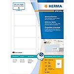 HERMA Inkjet Etiketten 8805 Wit Rechthoekig 88,9 x 46,6 mm 100 Vellen van 12 Etiketten