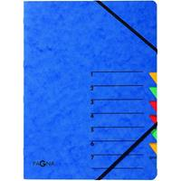 PAGNA Ordermap Easy 7-tabs, blauw
