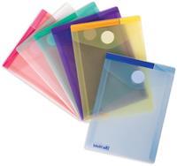 Tarifold documentenmap Collection Color voor ft A6 staand (11,4 x 15,8 cm), pak van 6 stuks, geassorteerd