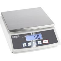 kern Tafelweegschaal Weegbereik (max.): 24 kg Resolutie: 2 g werkt op het lichtnet, werkt op batterijen, werkt op een accu Zilver