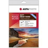 AgfaPhoto Premium Mat Coated 130 g A 4 50 Vel