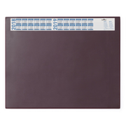 Durable 720403 desk pad Burgundy