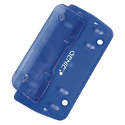 Genie PP 2 hole punch 3 sheets Blue