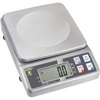 Kern Brievenweegschaal Weegbereik (max.): 3 kg Resolutie: 1 g werkt op het lichtnet, werkt op een accu Zilver