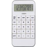 Bureau Rekenmachine Wit 12 Cm - Kantoor Calculator - Bureaurekenmachine - Kantoor Benodigdheden