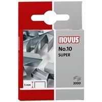NOVUS No.10 SUPER Doos ℃℃ 2.000 stuks nietjes