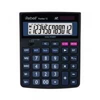 Citizen Calculator Rebell PANTHER 12BX zwart desk 12 digit