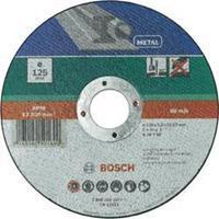 Doorslijpschijf recht, metaal Bosch 2609256317 Diameter 125 mm 1 stuks