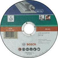 Doorslijpschijf recht, metaal Bosch 2609256315 Diameter 115 mm 1 stuks