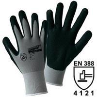 Worky 1167 NITRIL GRID fijne gebreide handschoen 100% polyamide met geschuimde Nitrilcoating met roosterstructuur Maat 10