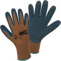 Worky 14902 Nylon latex foam fijne gebreide handschoen 100% polyamide met geschuimde latexlaag Maat 8
